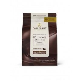 Шоколад горький 70,5%, в каллетах