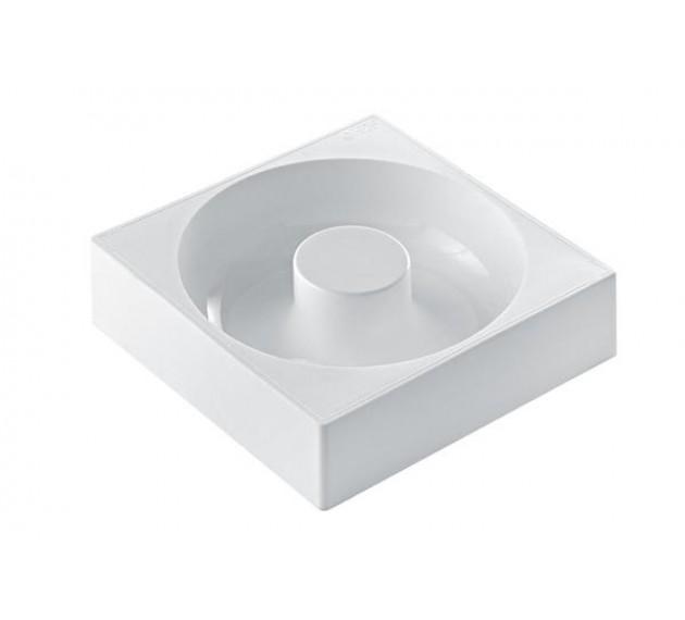 Форма силиконовая для торта Savaren (SAV18060). Внешний диаметр180мм, диаметр отверстия 60 мм, h 50 мм, Silikomart, Италия, 1 шт.
