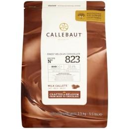 Шоколад молочный 33,6% Callebaut, в каллетах, 500г