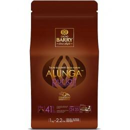 Шоколад молочный Alunga 41,3% Cacao Barry, 500г