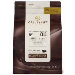 Шоколад темный 54,5% Callebaut, в каллетах, 500г