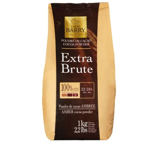 Какао-порошок Extra Brute (3*)
