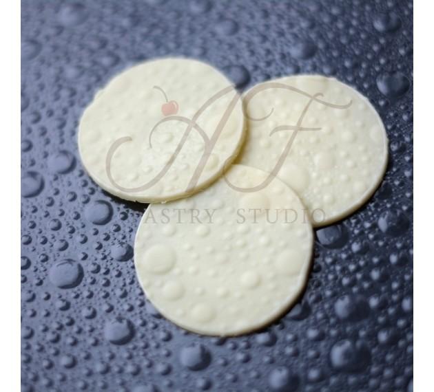 """Набор текстурных листов для создания рельефного рисунка на шоколаде """"Пузыри"""""""