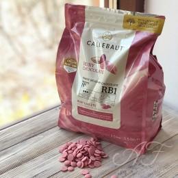 Шоколад Рубиновый Ruby RB1 47,3%, в каллетах, 200г
