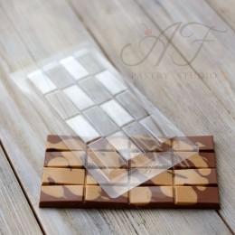 """Пластиковая форма для шоколадных плиток """"Vis Versa"""", Valrhona"""