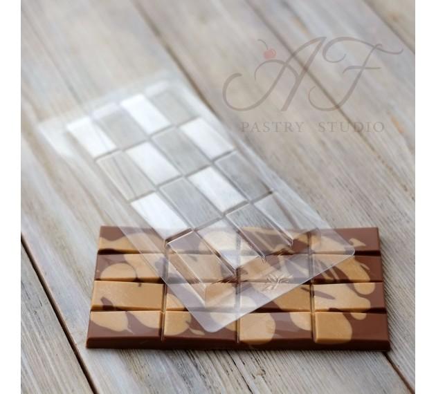 Пластиковая форма для шоколада Chocolat, 2 ячейки