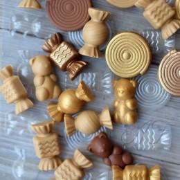 """Пластиковая форма """"Gourmandise"""" для шоколада, 155х75х9 мм"""