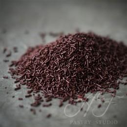 Вермишель шоколадная темная