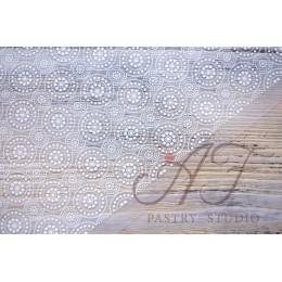 Белый переводной лист для шоколада, 40х25 см