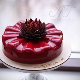 Подложка для торта из дерева, с вашей гравировкой, диаметр 26см х 3мм