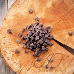 Термостабильные кусочки из темного шоколада, 200г