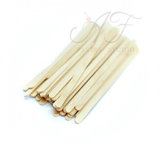 Палочки деревянные для мороженого, кейкпопсов, 14х0,6см